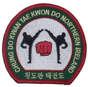 Image: Chung Do Kwan Embroidered Badge