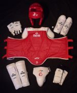 image: WTF Approved Sparring Gear