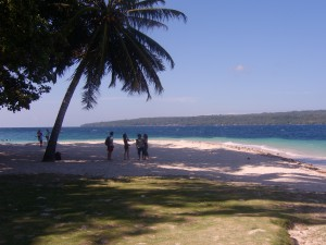 View from our picnic breakfast on Samal Island