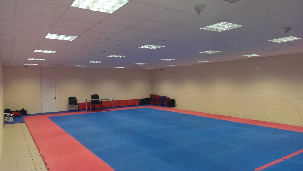 Image: taekwondo training hall