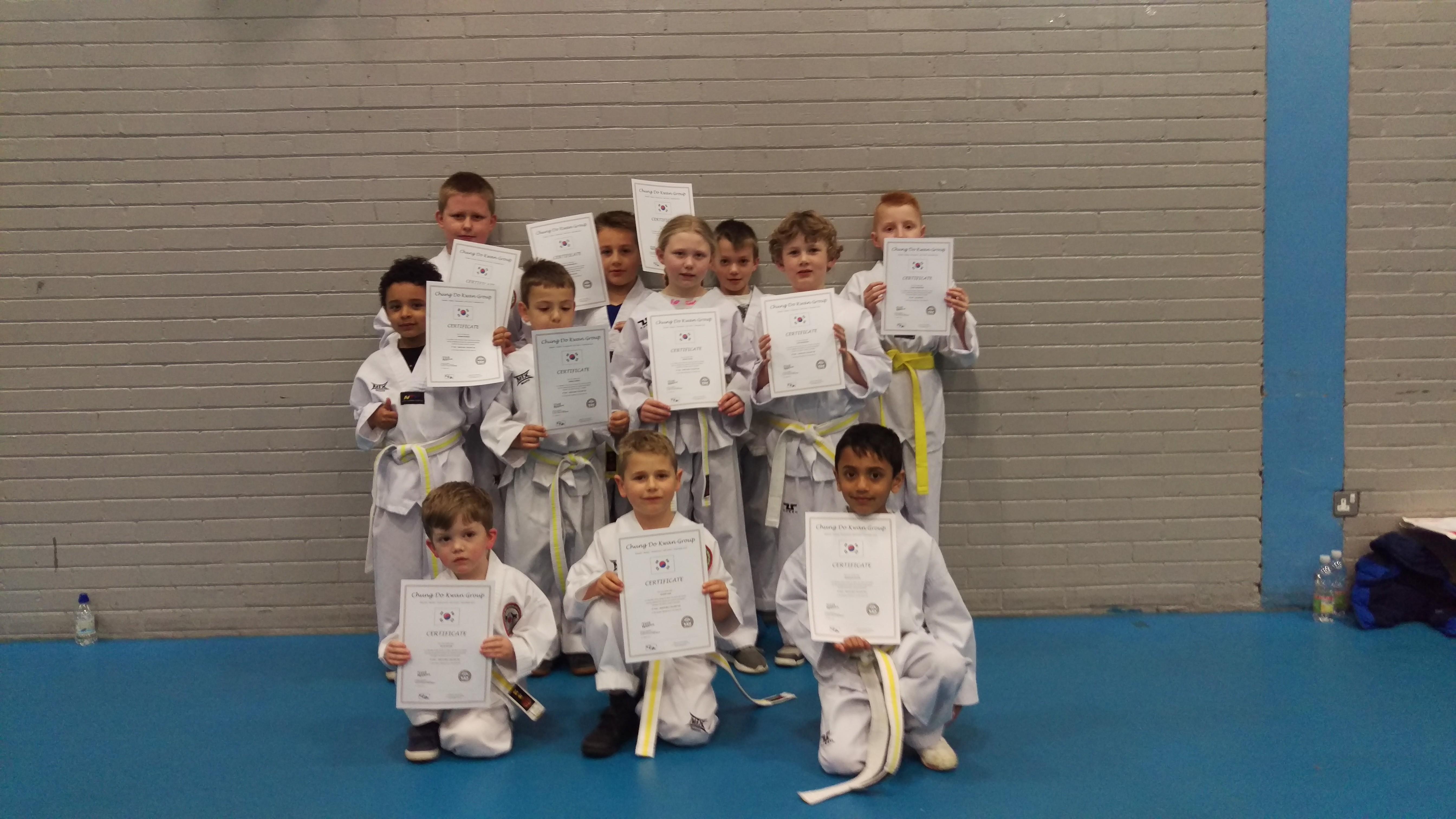 Taekwondo Grading